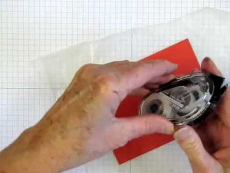 If you've ever gotten frustrated when the SNAIL Adhesive dispenser jammed, this video is for you. Don't throw away a SNAIL refill when there's still adhesive on the roll, let the Hot Tip Queen show you how to fix the problem.  www.stampingmadly.com