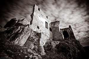 The Dark Ruins Of Durnstein In 1192 Richard Lionheart Was