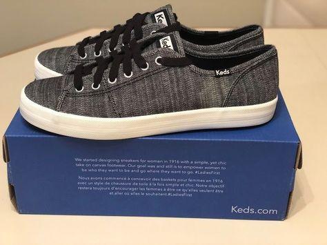 beee5507d50c8 KEDS KICKSTART DENIM BLACK SNEAKERS SHOES WOMEN S SIZE 10 NEW IN BOX  Keds   TennisShoes  SHOES  SNEAKERS  denim  black  sports  active  gift  gifts ...