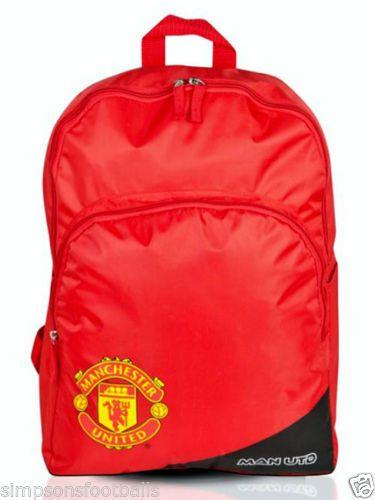 Manchester-United-FC-Backpack-Rucksack-Bags  392d3ab25d679