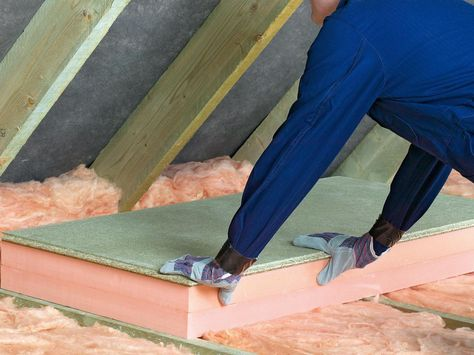 Tips On Increasing Attic Insulation Efficiency Insulation Roof Joist Shed Floor