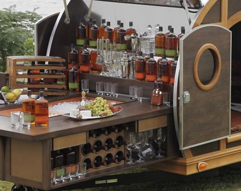A Mobile Bar Inspired By Bourbon