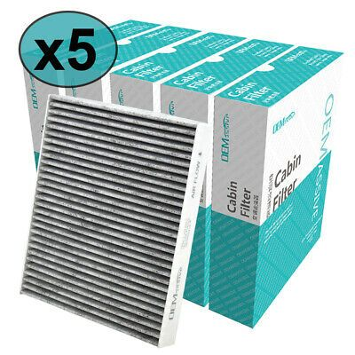 Details About 5pc Car Cabin Activated Air Filter 97133 C5000 For C