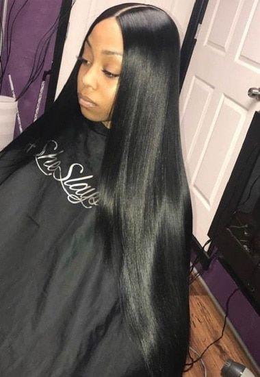 Nigerian Weavon Hairstyle For Women Straight Hairstyles Wig Hairstyles Straight Weave Hairstyles