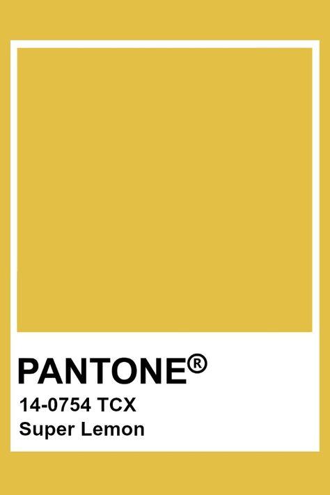 Pantone Super Lemon
