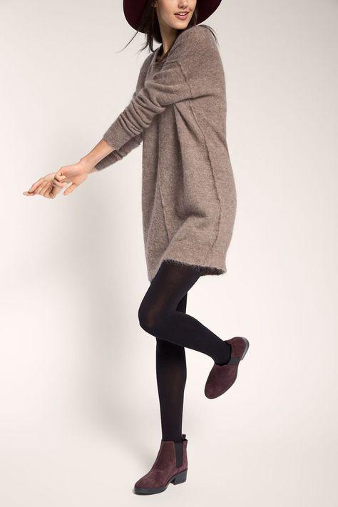 Lässiges #pullover-Kleid in #Brown von #Esprit. Das #Dress zaubert einen coolen...  -   Lässiges #pullover-Kleid in #Brown von #Esprit. Das #Dress zaubert einen coolen # casual # Stil hervor. ♥ ab 69,99 € #brown  Source by sabrina6822  -