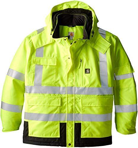 Enjoy Exclusive For Carhartt Men S Big High Visibility Sherwood Jacket Online Suede Jacket Men Waterproof Jacket Men Winter Outfits Men