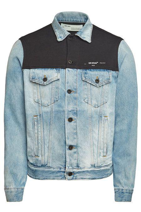 Fleece Top Jean Jacket Off White On Stylebop Com Ropa