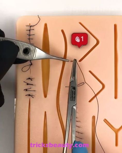"""Suture Practice Kit by Medical Creations Suture Practice Kit by Medical Creations Click on the """"Visit"""" button if you want a discount code! This Suture Practice Kit by Medical Creations is the best one you can find! It comes with a bonus ebook that takes you through the basic steps of suturing so.."""