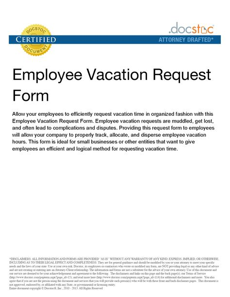 vacation time off request form and leave letter sample requesting - sample vacation request form