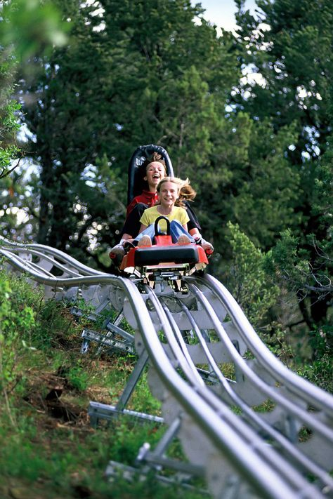 Check out the new Gatlinburg Mountain Coaster. $14 for single rider, $24 for double