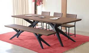 20+ Six piece dining set with bench Trend