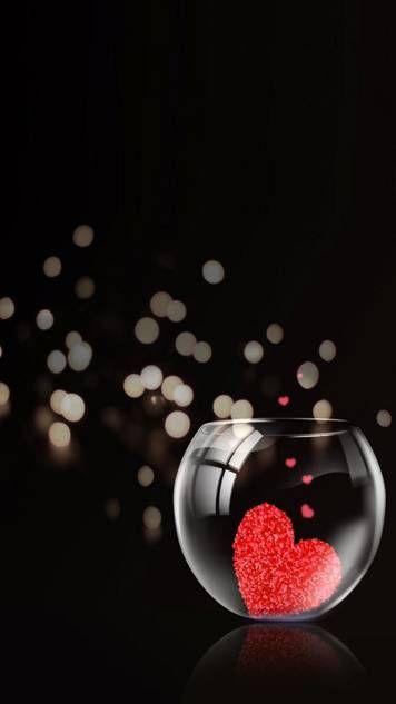 Heart In Fishbowl In 2020 Full Hd Love Wallpaper Love Wallpapers Romantic Love Wallpaper For Mobile