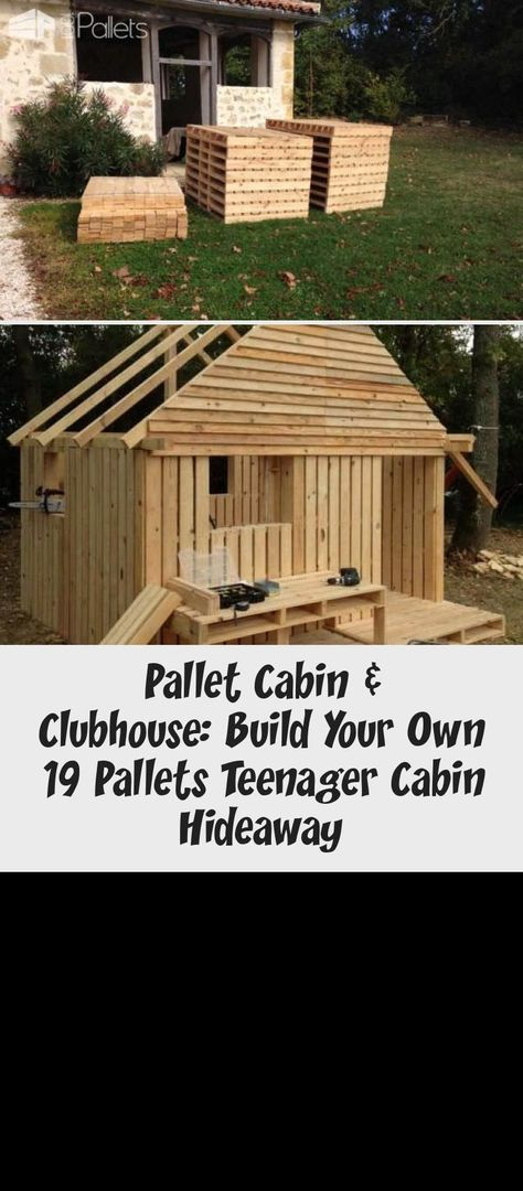 19 Pallet Teenager Cabin Hideaway Fun Pallet Crafts for Kids Pallet Sheds, Palle... -  19 Pallet Teenager Cabin Hideaway Fun Pallet Crafts for Kids Pallet Sheds, Pallet Cabins, Pallet Hu - #cabin #crafts #fun #Hideaway #Kids #outdoormovie #outdoorpost #Palle #pallet #palletoutdoorfurniture #palletshed #pottingshedexterior #Sheds #teenager