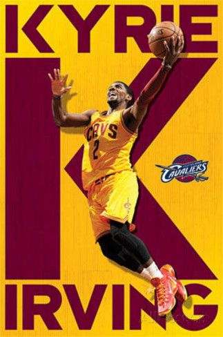 Kyrie Irving Cleveland Cavaliers Prints at