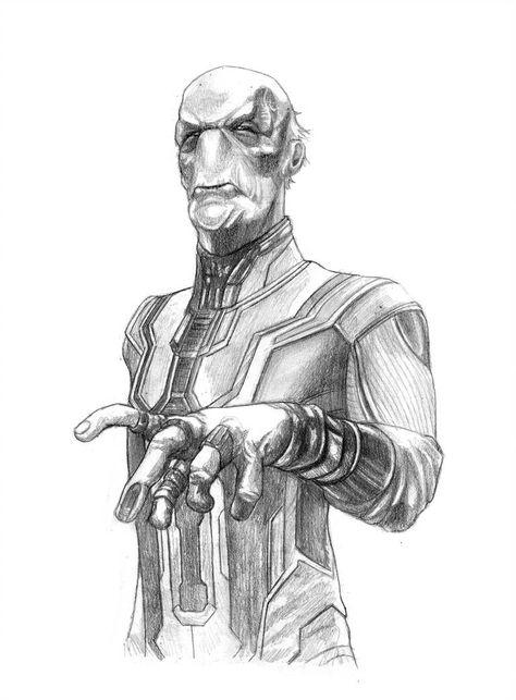 Ebony Maw (Thanos Black Order) (Avengers by SoulStryder210