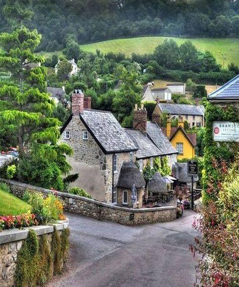 Branscombe village Devon