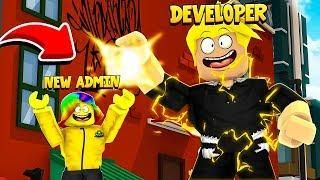 The Developer Gave Me The Admin Menu And You Won T Believe What It Does Roblox Roblox Cool Gifs Character