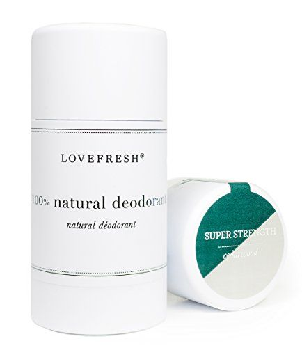 Lovefresh All Natural Super Strength Deodorant Aluminum Free