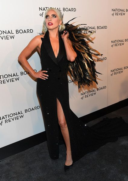 Lady Gaga attends the 2019 National Board Of Review Gala at Cipriani 42nd Street.