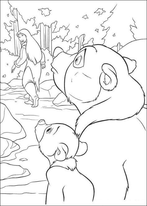 bärenbrüder malvorlagen  wenn du mal buch malvorlagen