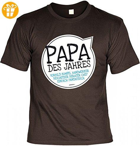 T Shirt Vater Papa des Jahres Geschenk Idee mit Humor