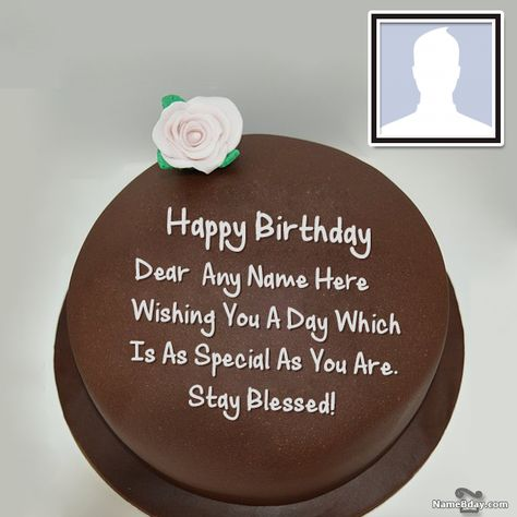 Make Happy Birthday Wishes For Friend With Name And Photo Birthday Wishes For Friend Happy Birthday Wishes Happy Birthday Fun