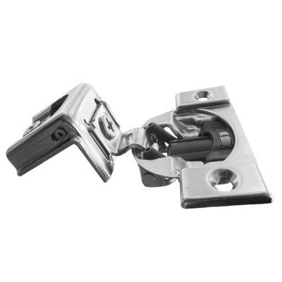 Blum Compact Blumotion 38c Round Cup Hinge And Plate For 1 1 4 Overlay Wraparound Screw On 20 Pack Read More At The Imag Overlay Hinges Overlay Cabinet Hinges Concealed Hinges