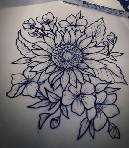 For my thigh..but with color!