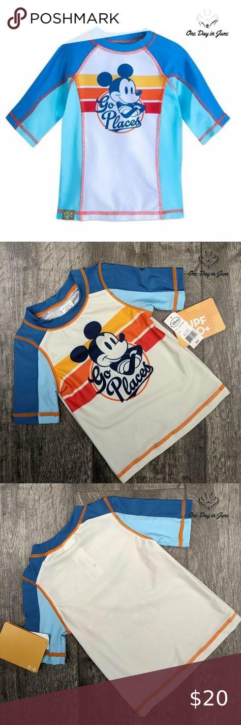 Check out this listing I just found on Poshmark: Disney Mickey Mouse Rash Guard. #shopmycloset #poshmark #shopping #style #pinitforlater #Disney #Other