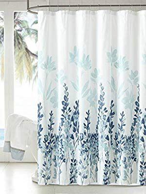 Amazon Com Manggou Fabric Shower Curtain Japanese Style Flowers
