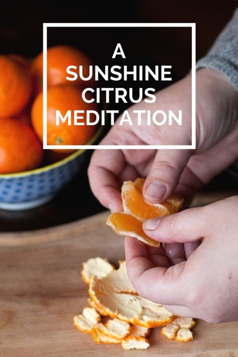 This meditation goes out to those of you deep in snow right now. It's how I get through the winter blues when my body craves warmth. #meditation