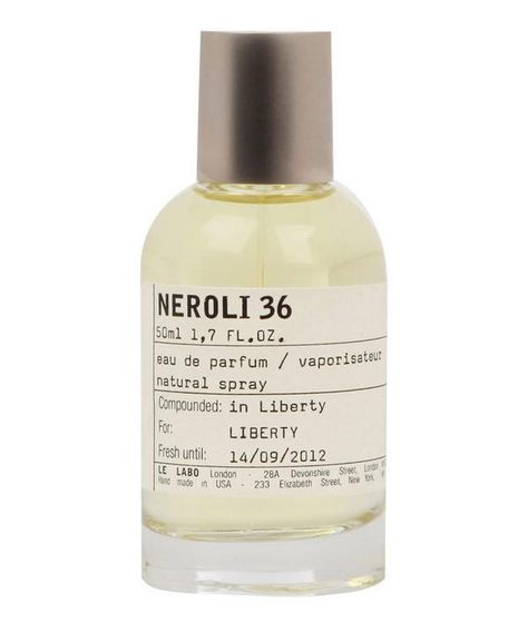 The unique quality of Le Labo's Neroli 36 is its sunny floral character with an extraordinarily warm, sensual base.