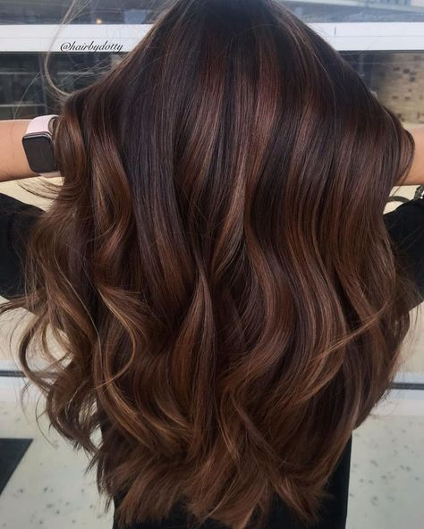 50 Best Hair Color Trends That Are Worth Trying in 2020 trends balayage 50 Best Hair Colors - New Hair Color Ideas & Trends for 2020 - Hair Adviser New Hair Colors, Cool Hair Color, Brown Hair Colors, Fall Hair Color For Brunettes, Gorgeous Hair Color, Hair Color Pink, Blonde Color, Dark Fall Hair Colors, Hair Color Ideas For Dark Hair