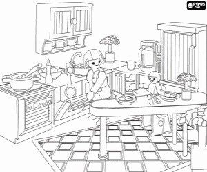 Coloriage Playmobil Maison Moderne At Supercoloriage Coloring Pages Coloring Pages For Kids Free Coloring Pages