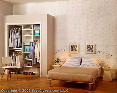 doorless closet closets pinterest ceiling california closets and easy closets