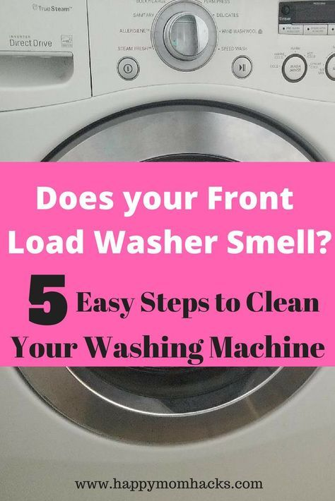 How To Clean A Front Loading Washing Machine With Bleach Washing