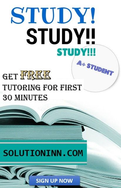 Find An Online Tutor For The Subject You Need Solutioninn Got You