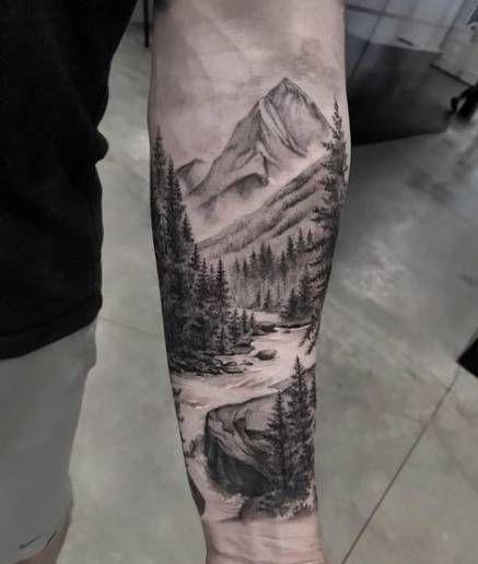 Best Tattoo Ideas Nature Scenery Ideas Nature Tattoo Sleeve Tattoos Cool Forearm Tattoos