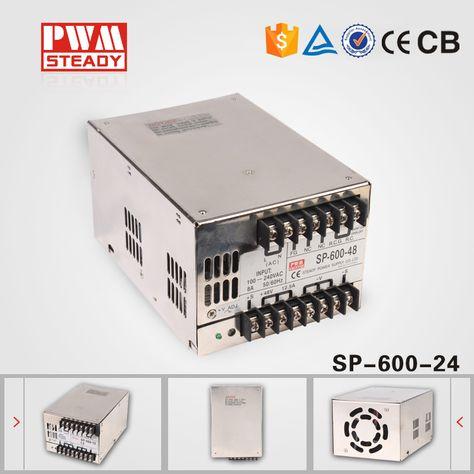 S-600W-5V Switching Power Supply 5V 100A 600W 110~230VAC Single Output Input for CNC CCTV led Light