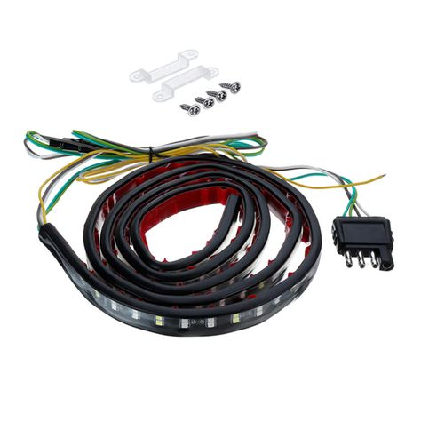 48inch Double Row Led Tailgate Light Bar Strip Reverse Stop Turn Red White For Truck Suv Led Tailgate Light Bar The Row Bar Lighting