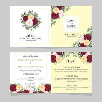 قالب دعوة زفاف تحميل مجاني تزوج وثيقة زواج بطاقة Png وملف Psd للتحميل مجانا Wedding Invitations Wedding Invitation Templates Invitations
