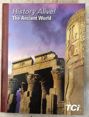 History Alive 6th Grade Ancient History 2017 Edition By Tci Hardcover Like New Ebay History Alive Ancient World History History