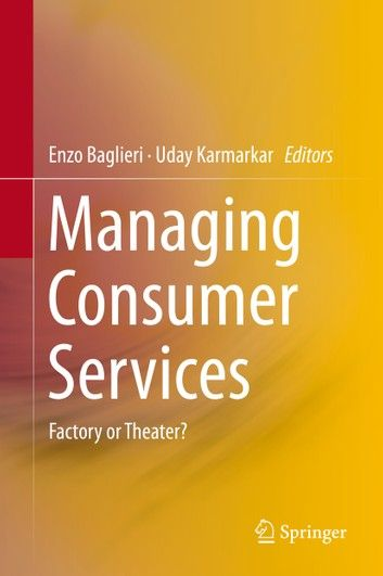 Managing Consumer Services ebook by  - Rakuten Kobo