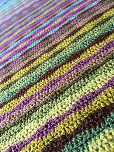 Ravelry Moorland Blanket Pattern By Lucy Of Attic24 Blanket Blanket Pattern Pattern