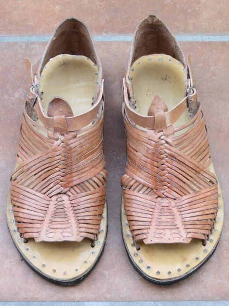 Don Miguel's Tejido Huaraches | Leather sandals, Huaraches