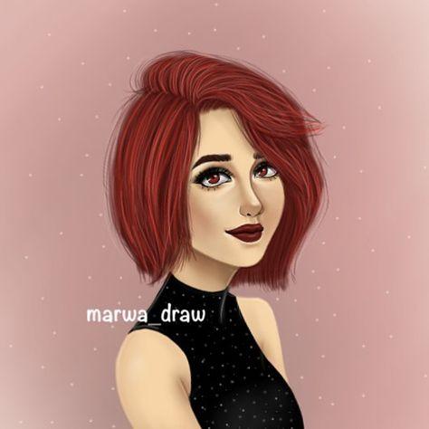 Draw A Wonderful Girl رسم شخصية كرتونية Character Fictional Characters Art