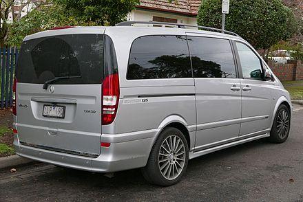 Mercedes-Benz Vito - Wikipedia | Mercedes Viano W639 | Mercedes benz