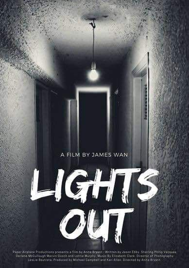 lights out horror movie posters
