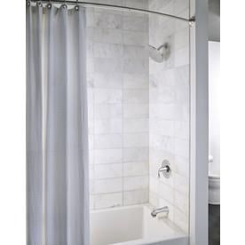 Moen Oxby Chrome 1 Handle Bathtub And Shower Faucet With Valve At